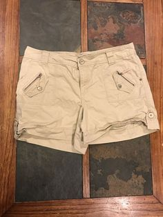 NEW Natural Reflections Women/'s Spring Valley Cotton Shorts Size 12