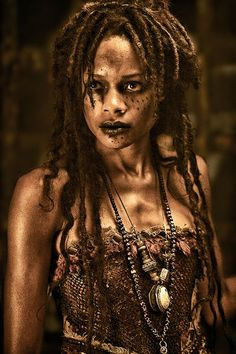 Tia Dalma as Calypso - Pirates of the Caribbean via Tumblr