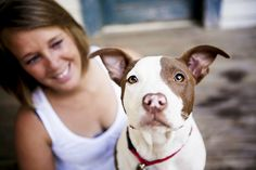 Jessica Cobb Pet Photography took these gorgeous photos of a pit bull named Hope. Read her story to find out why it is the perfect name!