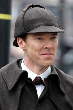 Why Is Benedict Cumberbatch Dressing Like an Old-School Sherlock? | TIME