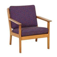 Vintage Nesto fauteuil ontwerp Lena Larsson Retro Studio