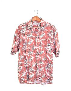 Tropical Shirt Hawaiian Shirt Camp Shirt by founditinatlanta