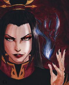 "Azula iamhumah: "" ""…You should have feared me more! Avatar Azula, Avatar Characters, Avatar Series, Avatar The Last Airbender Art, Comic, Fan Art, Iroh, Zuko, Legend Of Korra"