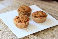 Pumpkin and Pecan Muffins #paleo #primal #pumpkin