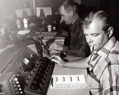 """Bill Putnam, the """"Father of modern recording."""" Invented the modern recording console."""