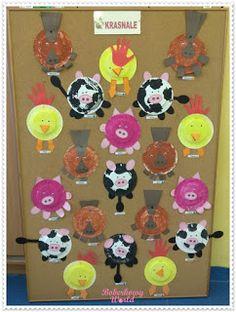 Boberkowy World : Zwierzęta wiejskie - zabawa w kodowanie. Scenariusz zajęć przedszkolnych Hula, Kids, Young Children, Boys, Children, Boy Babies, Child, Kids Part, Kid
