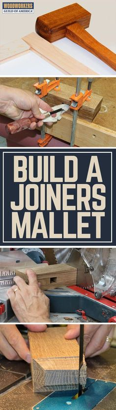 "One of the most frequently used tools in my shop is a joiner's mallet. I use one for finesse work such as tapping chisels and carving tools, as well as more blunt force actions like banging a carcase together or forcing a panel flat during glue-up. I have made a half dozen or so joiner's mallets over the years, each time attempting to improve upon my previous attempt, and also striving to achieve the ""perfect mallet"". I won't say that this one is perfect, as I reserve the right to continue…"