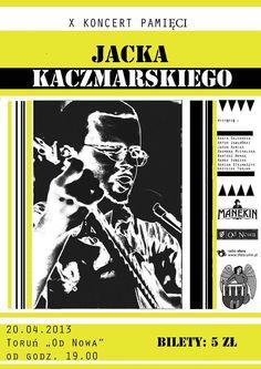X Koncert Pamięci Jacka Kaczmarskiego - Toruń - Informator Kulturalny Gdzieco.pl