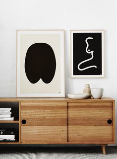 Prints by Australian artist Caroline Walls. Photo: Annette O'Brien.