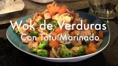 Wok de Verduras con Tofu Marinado - Recetas de Cocina Vegetariana