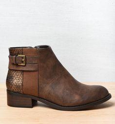 Bottines MARRON MyB FEMME - Bottines et boots - Femme