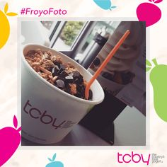 """Took myself out on a date cravings satisfied. #tcby"" Thank you @tinechapman for our pic of the week! #FroYoFoto #froyo"