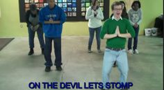 Here's the Christian version of the Cha Cha Slide.  So FUNNY! | http://gracevine.christiantoday.com/video/heres-the-christian-version-of-the-cha-cha-slide-so-funny-3745