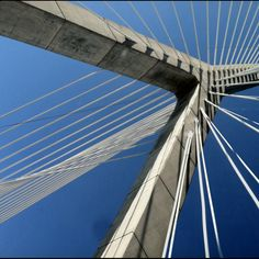 Leonard Zakim Bunkerhill Bridge #Boston