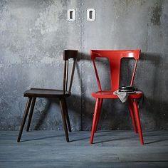 Splat Chair - Vermillion or Espresso: