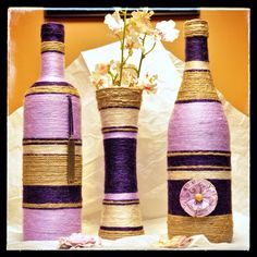 Lavender, Purple and Beige Set