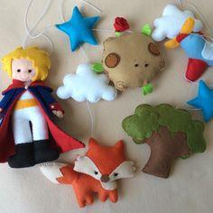 Baby Crib Mobile Little Prince Visit my instagram @ilovelespetites