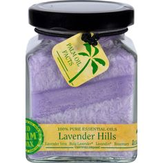 Aloha Bay Candle - Cube Jar - Pure Essential Oils - Lavender Hills - 6 oz - Bulgarian Lavender* - Lavender - Lavandin* - Rosemary100% Pure Essential OilsEco Palm Wax with organic Palm Wax from South America. 100% Pure Essential Oils. Essential Oils marked with an asterisk (* ) are certified organic. Six ounces each. Burn time is 40 hrs. Cotton wick for clean and steady burn. Organic: NA Gluten Free: No Dairy Free: No Yeast Free: No Wheat Free: No Vegan: No Kosher: No GMO Free: NA Summer Melt…