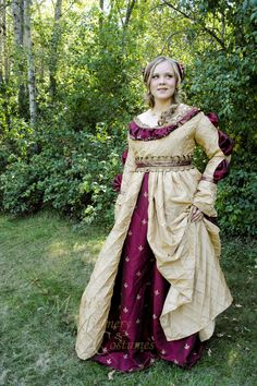 CUSTOM Renaissance Italian Borgias Ever After dress by MattiOnline