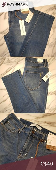 Vintage X America jeans brand new Mid-Rise slim leg jeans. Perfect for everyday wear. Plus Fashion, Fashion Tips, Fashion Trends, Slim Legs, Jeans Brands, Vintage Ladies, Brand New, America, Denim