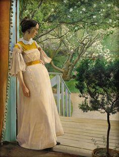 The Artist's Wife (Lauritz Andersen Ring, 1897)