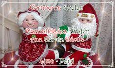 Manualidades Anafer: Cortineros Navideños Reno, Elf On The Shelf, Christmas Ornaments, Holiday Decor, Home Decor, Christmas Deco, Feltro, Christmas Chair, Baby Pillows