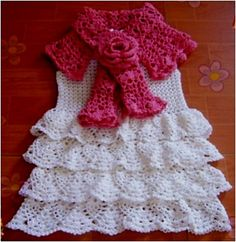 Ravelry: Dress, Capelet and Bolero for a Little Fashion Queen pattern by Svetlana M.