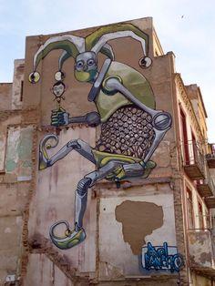 Graffiti Artist Pixel Pancho Paints a Robot Army on the Streets - Streets on Art 3d Street Art, Urban Street Art, Murals Street Art, Amazing Street Art, Best Street Art, Street Art Graffiti, Street Artists, Urban Art, Pixel Pancho