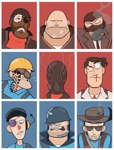 Team Fortess 2, Red Team, Tf2 Funny, Haha Funny, Subnautica Creatures, Dream Daddy Game, Team Fortress 2 Medic, Valve Games, Character Art