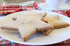 Zimtsterne: A Traditional German Holiday Cookie (Gluten-Free, Paleo) - MommypotamusMommypotamus |