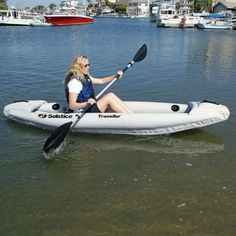 Looking for the perfect kayak? Try out the Traveller Solo Kayak from Family Leisure! 1 Person Kayak, Kayaking With Dogs, Family Leisure, Kayak Accessories, Inflatable Kayak, Paddle Boarding, Outdoor Fun, Water Sports, Rafting