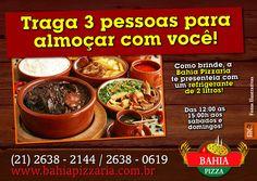 Promoção de Final de Semana!!! #BahiaPizzaria #Almoço #VemPraBahiaPizzaria