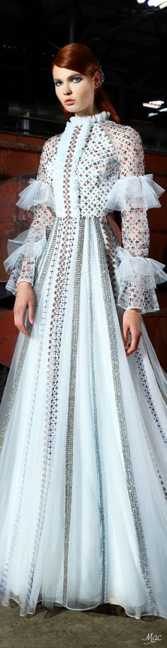 Spring 2017 Haute Couture Rami Kadi - Mirror Mirror on the Wall ...