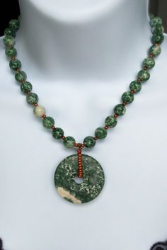tree agate #necklace