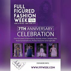 Events To Attend- Full Figured Fashion Week
