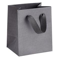 Mini Grey Manhattan Recycled Gift Tote