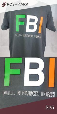 68f5812d8f Full Blooded Irish Funny Unisex Graphic T Shirt Item Name: