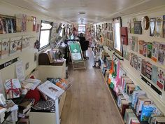 "oh comely book barge - Crosspin to ""Life in the slow lane - Narrowboats and..."""