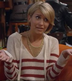 Riley Perrin Striped Sweater. Season 1 Episode 3. I love this ...