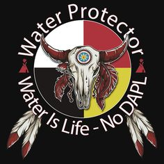 Water Protector Water Is Life - No DAPL