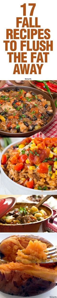 These fall fat-loss recipes have one thing in common: they offer yummy, minimally-processed or whole ingredients that are high on nutrition and low on fat, refined sugar, and artificial sweeteners.