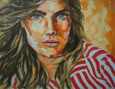 """Run, run, run"", oil on canvas, 50 x 60 cm, 2013, by Magdalena A. Rosso"
