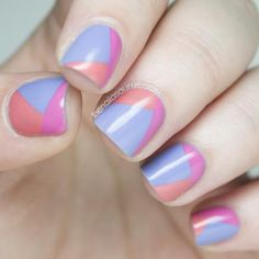 These pretty manicures are perfect for short nails. You don't need long nails for these fun nail art looks.