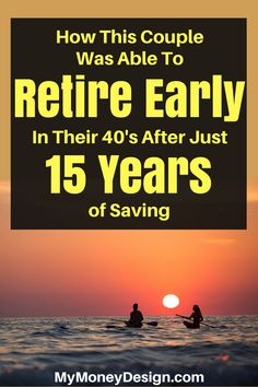 """Think you need to make a lot of money or save for 30 years to retire? In the book """"How to Retire Early"""" by Robert and Robin Charlton, you'll learn how Retirement Advice, Retirement Cards, Saving For Retirement, Early Retirement, Retirement Planning, Financial Planning, Financial Goals, Retirement Pictures, Retirement Decorations"""