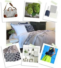 Laura Ramsey Furniture and Interiors   Decorate Your Space Inspiration Board. #lauraramseyinteriors #blog #decorateyourspace #inspiration #board #decor #home #interior #design #atlanticpacific #essie #madewell