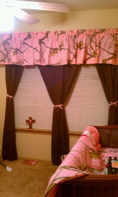 Curtains (no pink...lol)