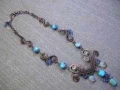 Celtic Sea Necklace - Celtic Jewelry