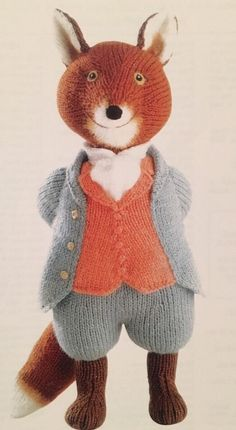 Beatrix Potter Toy Knitting Pattern in Crafts, Needlecrafts & Yarn, Crocheting & Knitting | eBay!