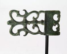 A fine Celtic Bronze Belt Buckle, La Tene, ca 4th century BC | Sands of Time Ancient Art