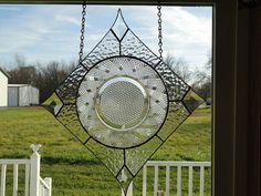 Hatchcross Antique Plate stain glass by Theloveofstainglass
